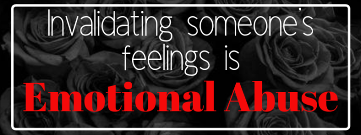 Did you know that this is emotional abuse?