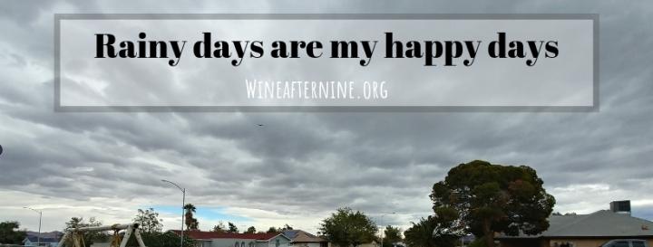 Rainy days are my happydays