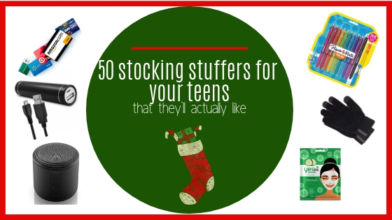 50 Stocking stuffers for your teens