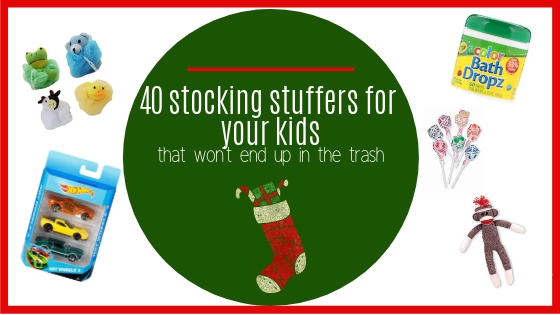40 stocking stuffers for your kids