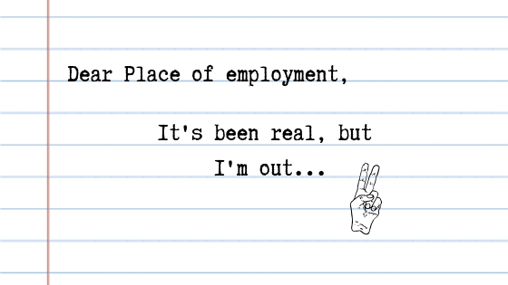 Dear Play of employment,