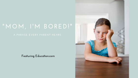 Activities for your kids when they arebored