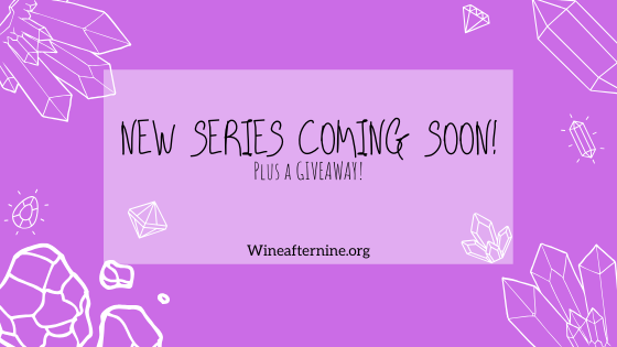 New series coming your way plus a **GIVEAWAY**… Staytuned!